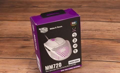 酷至尊MM720轻量级游戏鼠标体验,脏的可以直接扔进水里洗