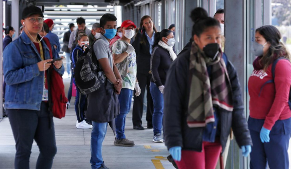 疫中看拉美丨哥伦比亚累计新冠肺炎确诊病例逾百万 疫情恶化拖累经济重启