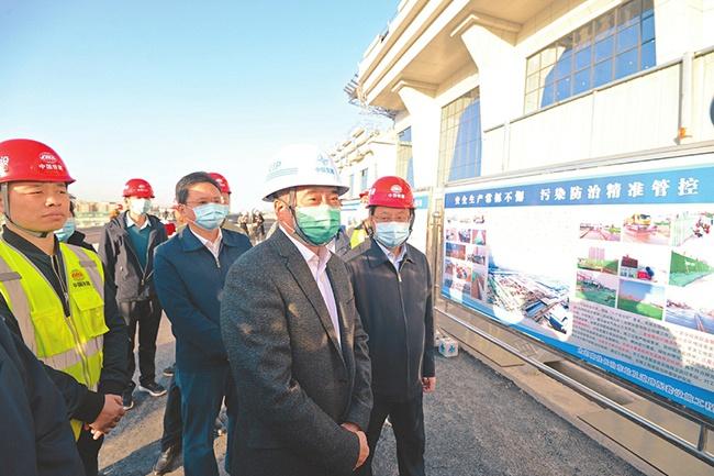 林武在长治市督导检查安全生产和污染防治工作