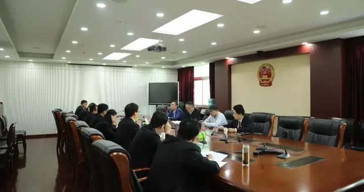 陕西省法院王麟副院长来渭南法院调研指导工作