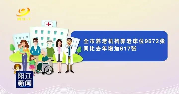 阳江市建有养老机构88家床位9572张