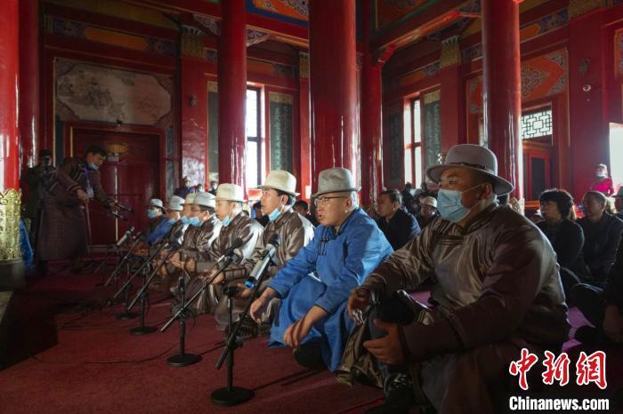 成吉思汗庙举行年祭大典