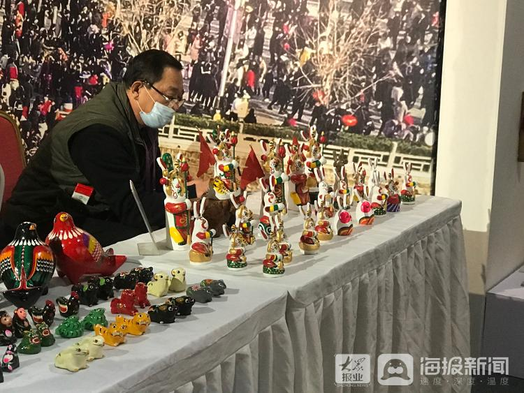 鲁绣、多福砚、皮影戏……济南5项非遗项目亮相第六届中国非遗博览会
