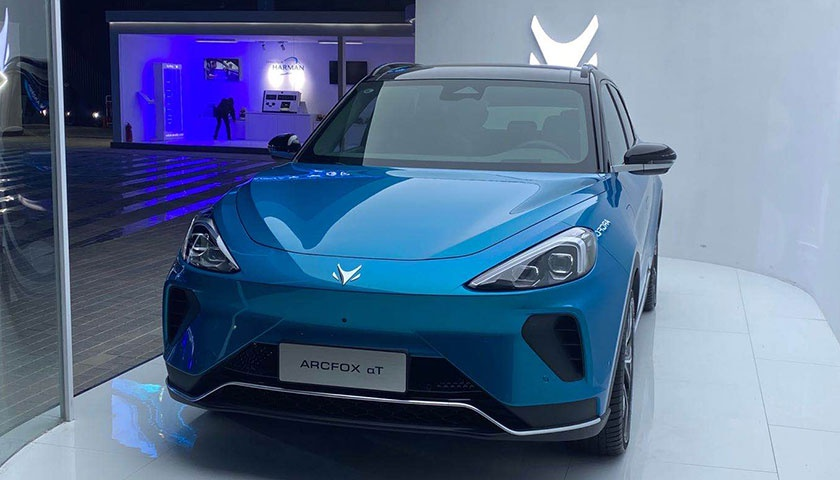 北汽四年磨一剑,旗下高端新能源品牌ARCFOX首款量产车αT上市   新车