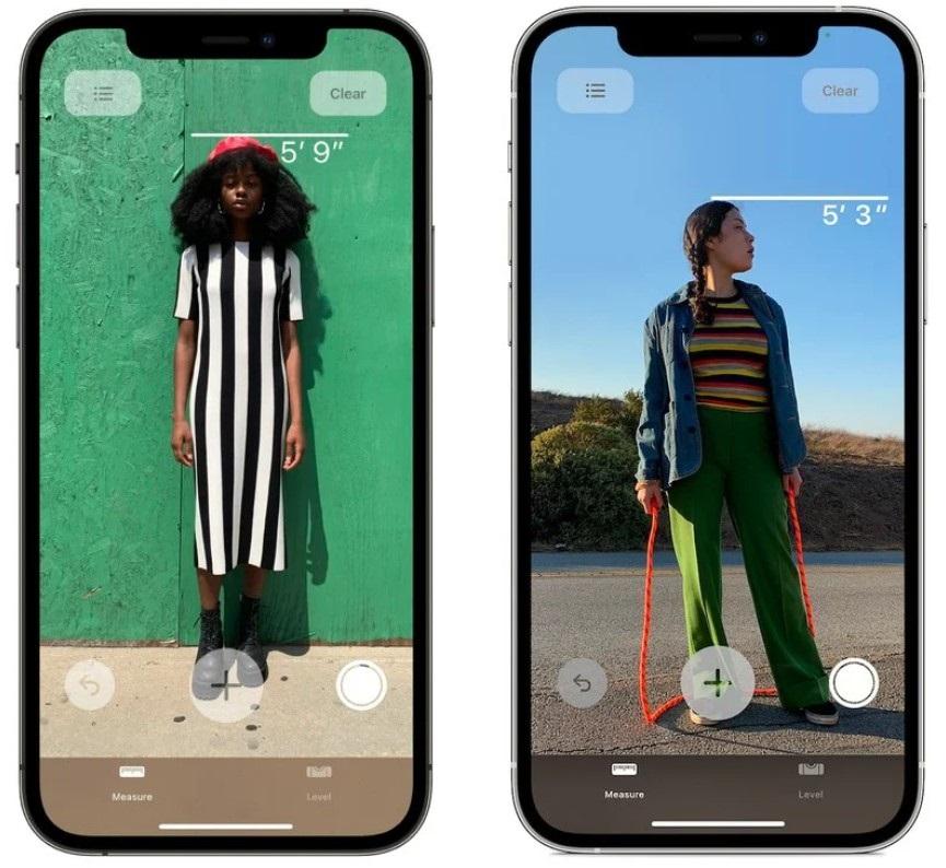 苹果iPhone 12 Pro激光雷达扫描仪实用玩法:可即时测量身高