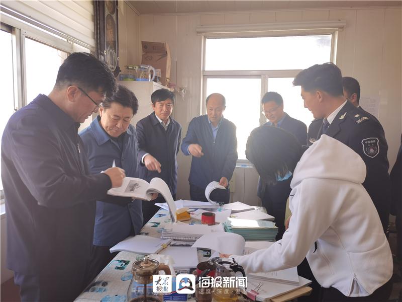 省政府安委会督查组对烟台开发区开展安全生产督导检查