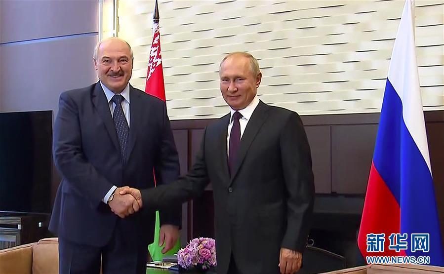 白俄总统对蓬佩奥说:俄罗斯是亲密盟友 两国将共