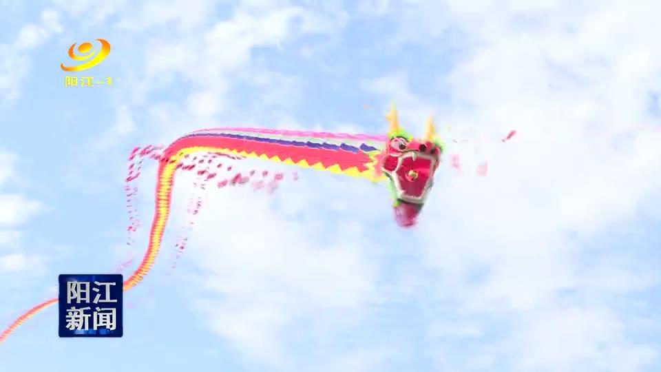 新闻特写:阳江南国风筝竞赛场内外各式风筝争奇斗艳