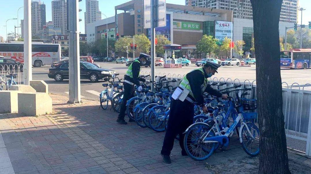 规范共享单车行停秩序 治理骑车乱象