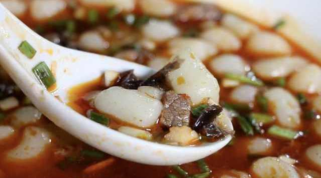 豆腐圆子无豆腐!杜甫落魄时创神菜杜甫圆子:大米做圆子形似豆腐