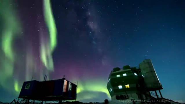 南极的世界尽头有一片很惊艳的风景……