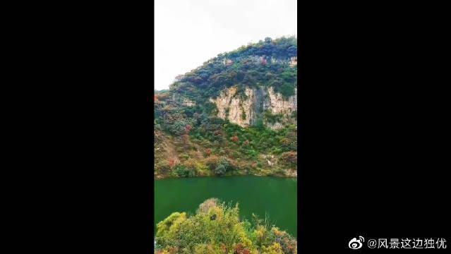 风景不经意间散落在一池秋水里,拨弄满池的秋晕,轻叩一帘心事……