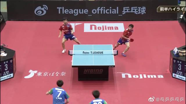乒乓球T联赛:庄智渊领衔双打取得开门红……