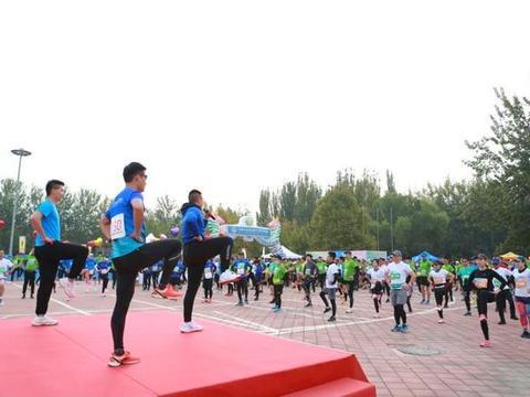 第45届公园半程马拉松北京公开赛建侬朝阳公园站举办