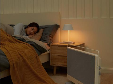 智米石墨烯电暖器:睡在暖阳下,住进春风里