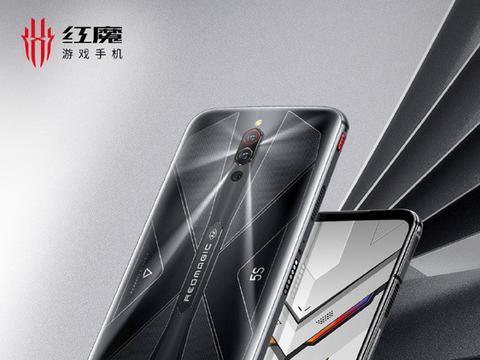 红魔5S游戏手机幻影黑12GB+256GB版本