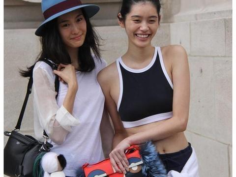 同是超模辣妈,奚梦瑶和秦舒培一对比,网友:差距实在太大了