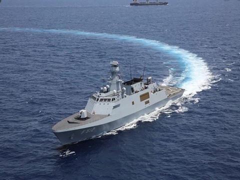 土耳其卖巴铁巡洋舰,25日正式开工,土国防部长出席仪式