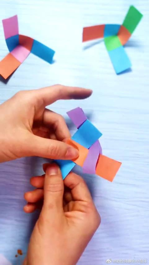 手工制作:80后的朋友,小时候应该都玩过这个