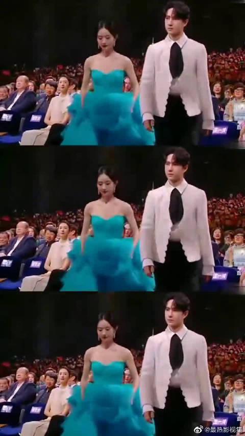 王一博赵丽颖荣获金鹰最受欢迎男女演员奖