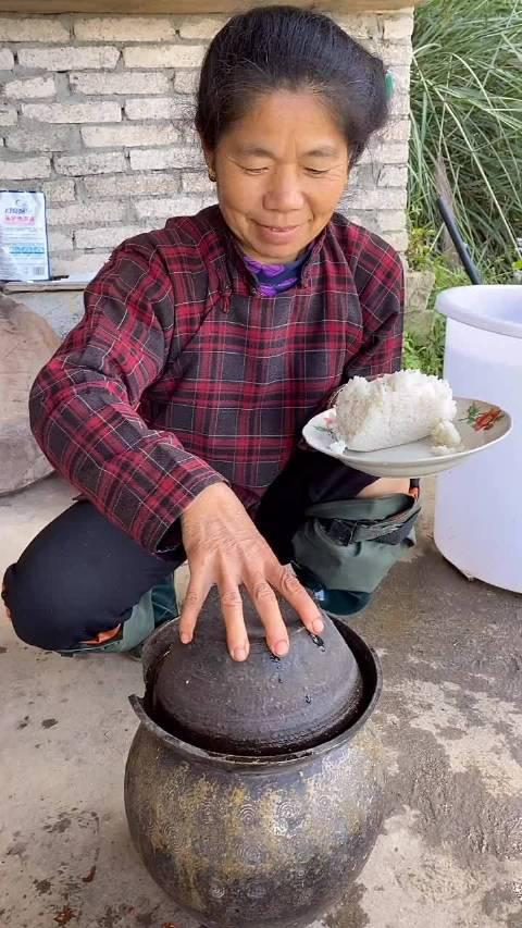 酸豆角配米饭