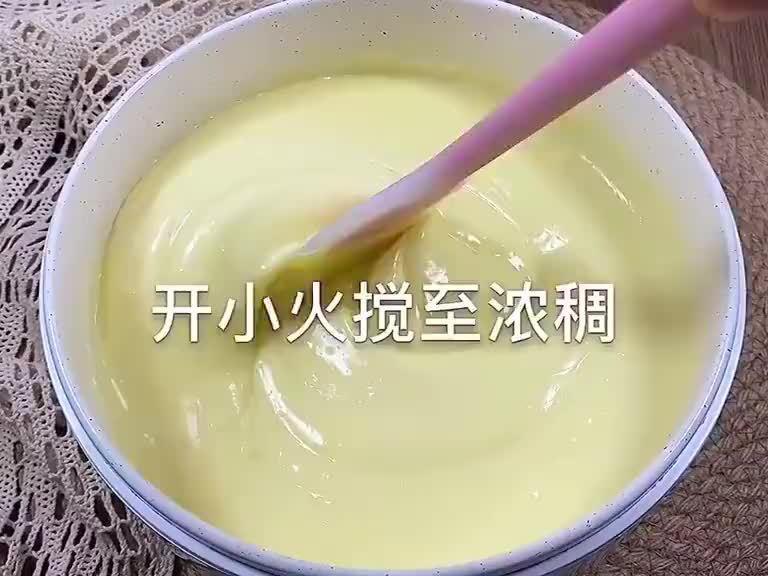 牛奶这样做,细腻嫩滑,奶香味十足,太好吃了~ :饭饭の美食记