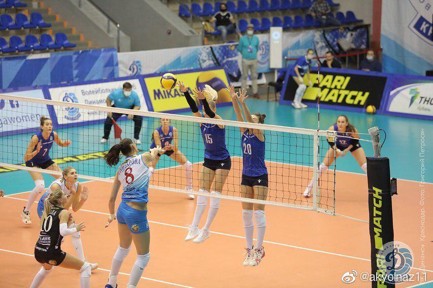2020-2021俄罗斯女排超级联赛第九轮……