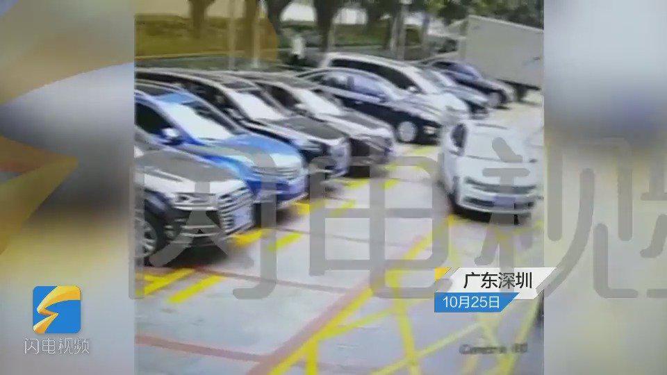 有监控!深圳一停车场小孩突然窜出 遭车辆撞倒碾压