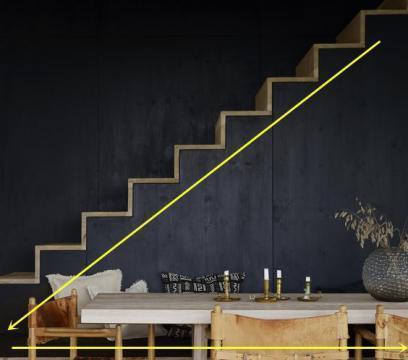 看了那么多楼梯,一眼相中下面加2米长餐厅卡座的,跟人家不重样