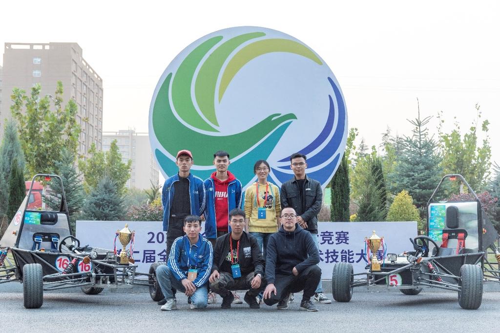 全国新能源汽车关键技术技能大赛 四川城市职院师生斩获两个一等奖