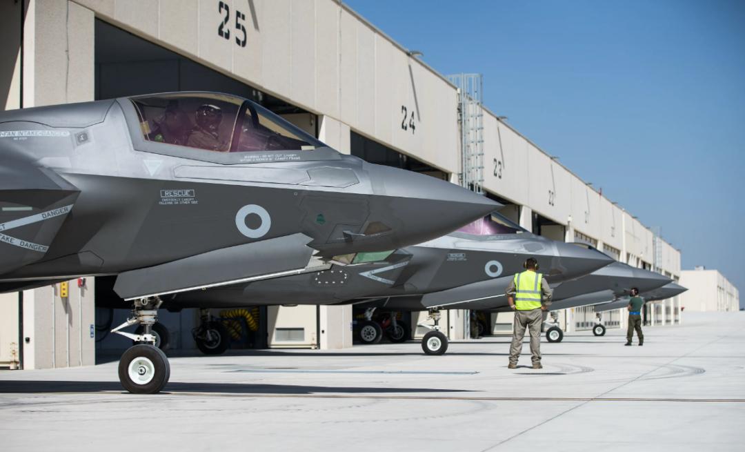 英国皇家空军装备的F-35战斗机