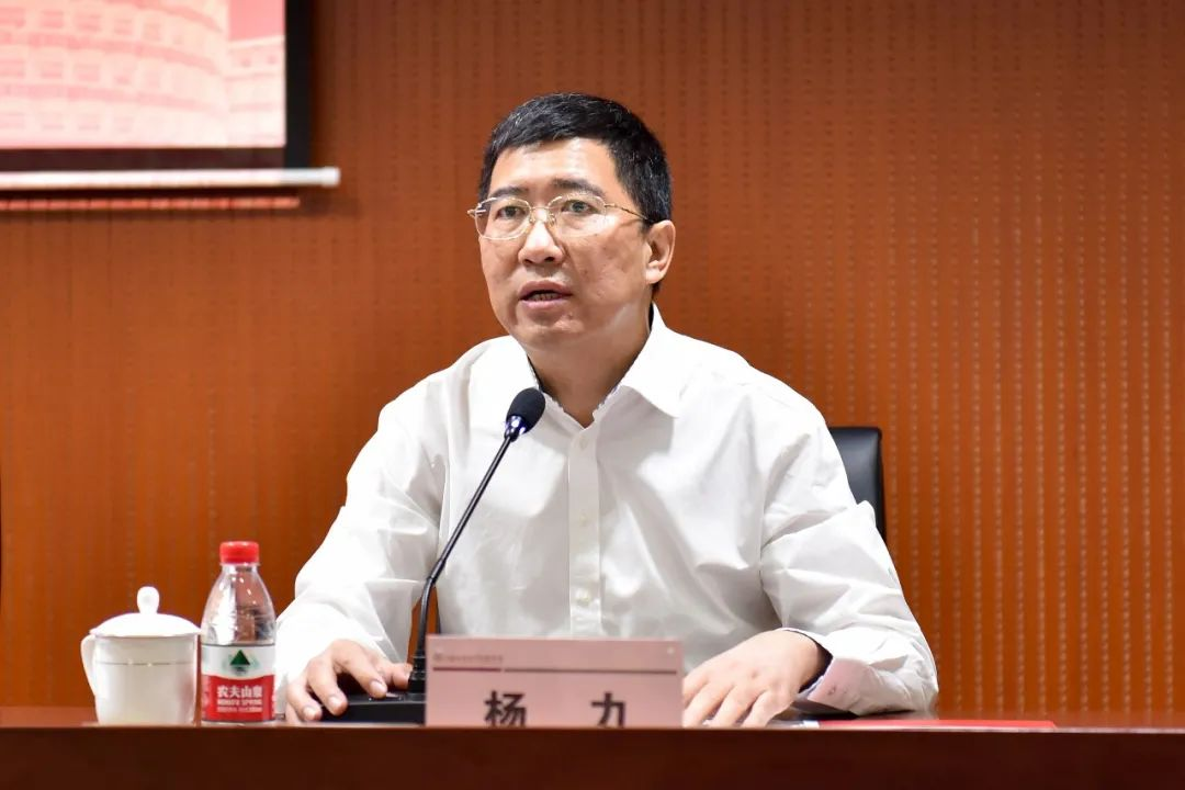 杨力任上海立信会计金融学院党委副书记、院长