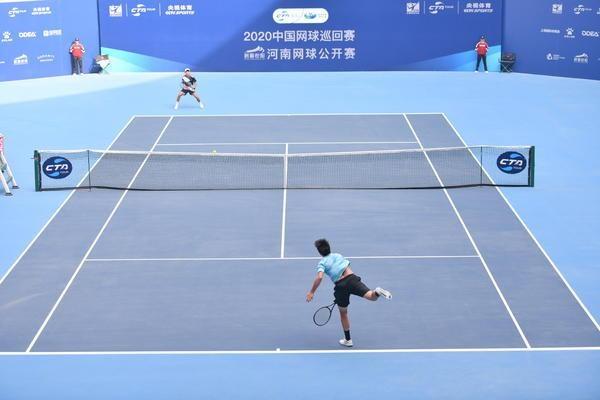 250余名选手逐鹿中原!中国网球巡回赛河南公开赛开战
