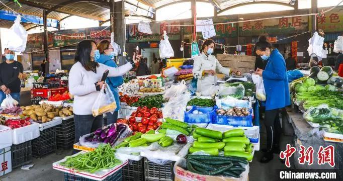 喀什市严格执行疫情防控政策 生活物资货源充足价格稳定