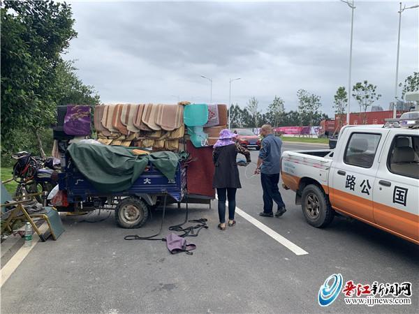 晋江公路分局加快路域综合整治