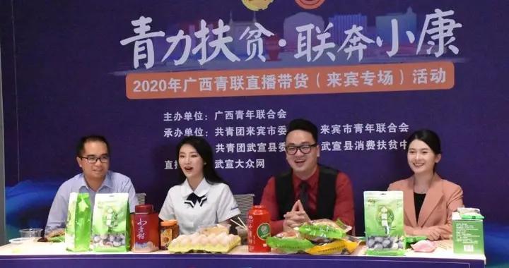 广西青联举办农产品直播带货活动助力乡村脱贫