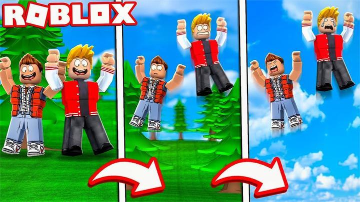 Roblox跳跃传奇模拟器:欢乐跳跃小游戏!挑战最高空岛?小格解说