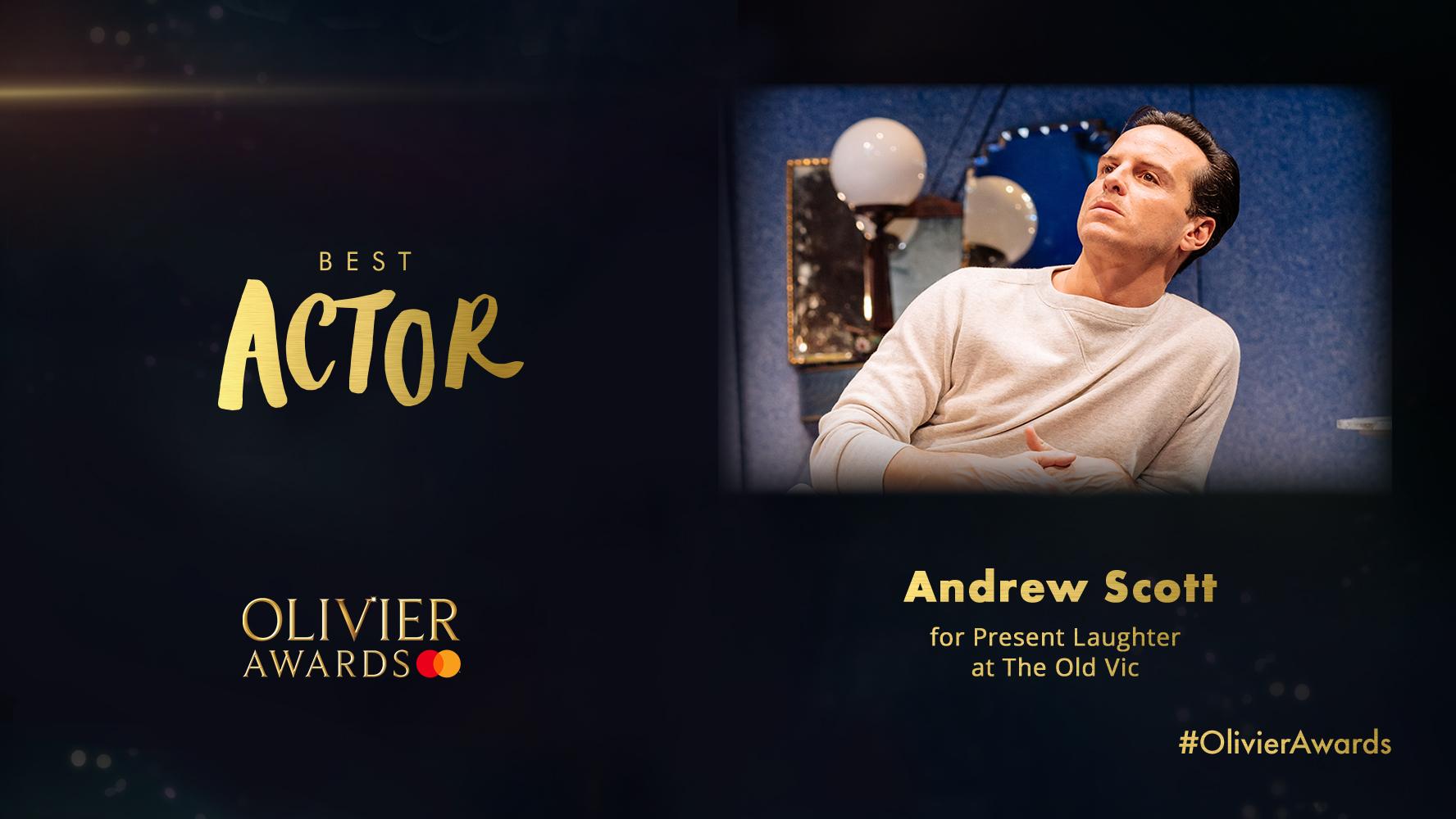 奥利弗奖直播颁出,安德鲁·斯科特斩获最佳话剧男主角图片