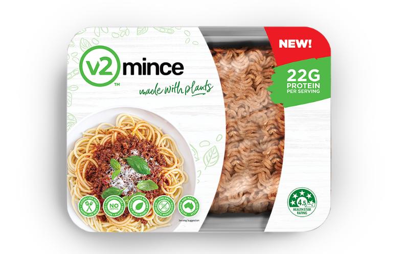 澳大利亚人造肉公司「v2food」再获7700万美元B轮融资,主打纯素食肉糜和植物性汉堡肉饼