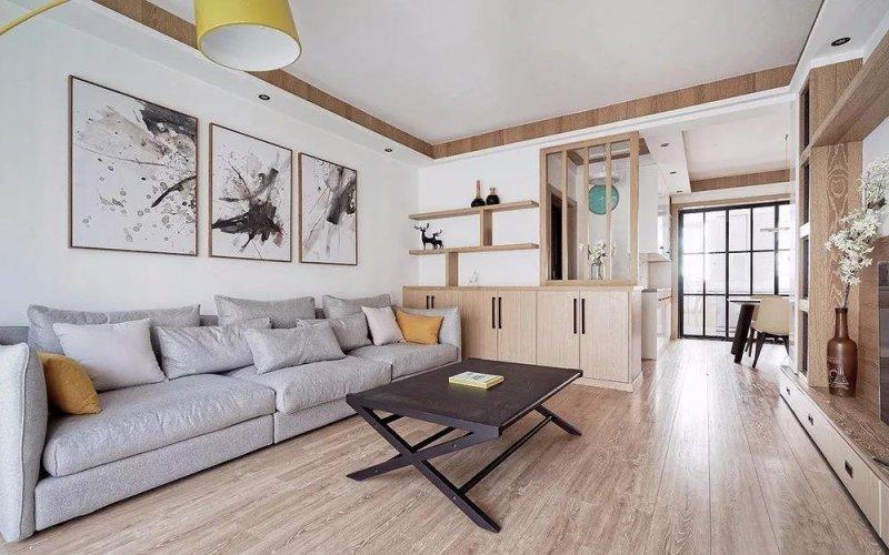 谁说买房容易装修难,我看这套北欧风的三居室装修的特别好看。