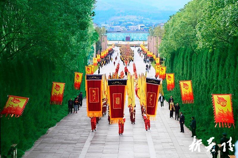 庚子年重阳炎陵县社会各界祭祀炎帝陵典礼今日举行 尹朝晖担任主祭