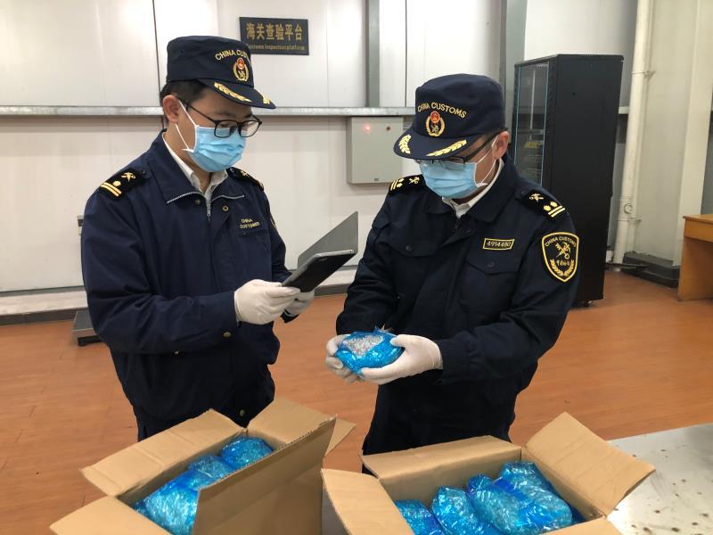 """长沙黄花机场海关查获927.54千克禁止进口固体废物(3天前""""旧闻"""",不发)"""