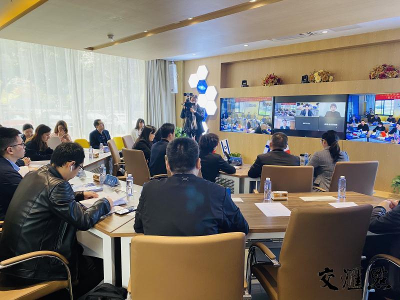 """2020南京国家海外人才离岸创新创业基地 """"智汇江宁""""国际人才跨境路演赛在宁启动"""