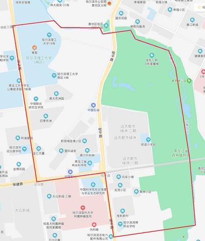 因地铁工程建设 10月28日哈尔滨市南岗区部分区域停水