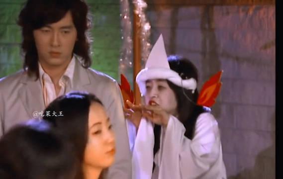 来看看《恶作剧之吻》原版湘琴万圣节扮鬼