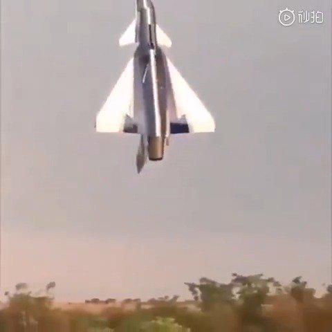 RC歼-10垂直悬停……只要推力大那啥啥啥