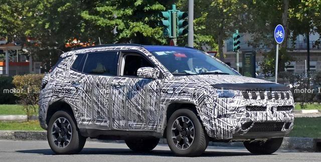 新款Jeep指南者或将2020广州车展亮相 海外版谍照曝光