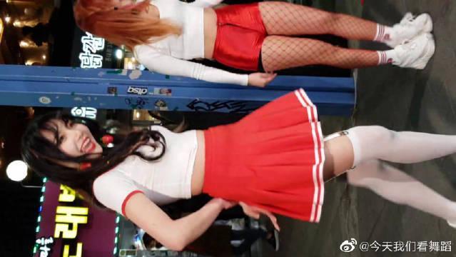 韩国饭拍舞蹈队杨桃训练(Labien Rose)……