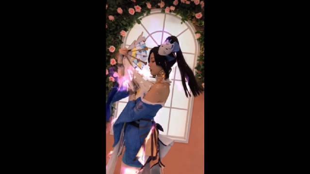 这样的不知火舞你喜欢吗?嗯?