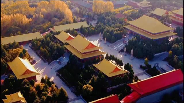 航拍秋日诸城的常山 (dy段夕杰)